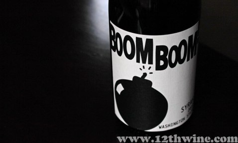 2012 Charles Smith Boom Boom! Syrah